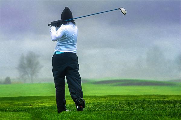 Golf isnt always sunshine.