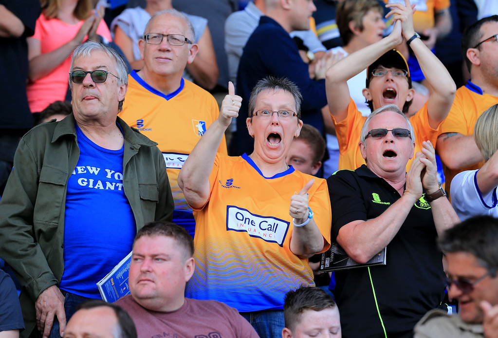 Mansfield Town v Luton Town Sky Bet League 2 26/08/2017.