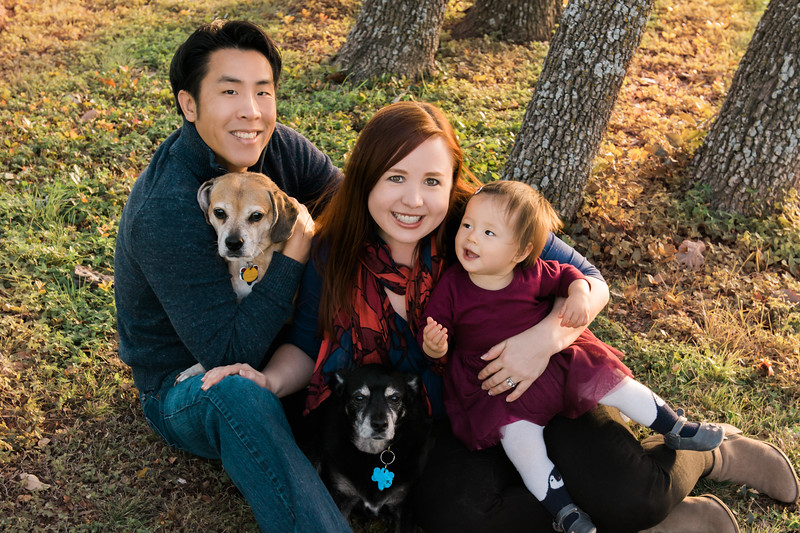 Family Portrait, Austin, TX, Sarah Deluna Photography