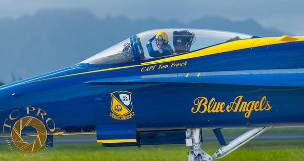 Just Another Day at the Office - Blue Angels F/A-18 Hornets