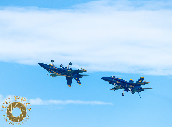 Blue Angels F/A-18 Hornets