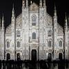 Duomo con pioggia