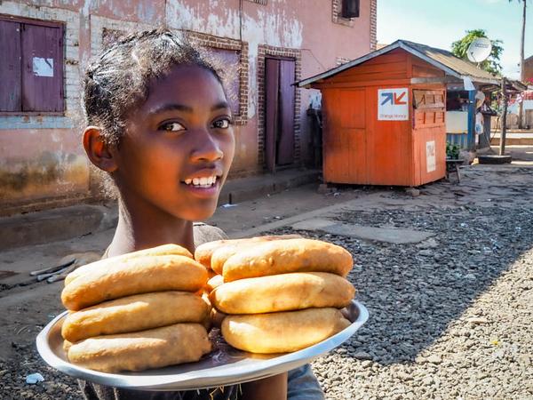 Madagascar Bread Seller