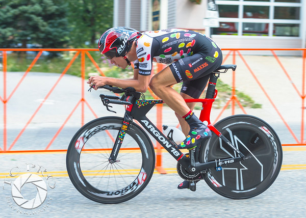 2015 US Pro Cycling Challenge.  Stage 5:  Individual Time Trial.  Breckenridge, CO