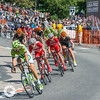 US Pro Cycling Challenge.  Stage 7:  Boulder-Golden-Denver (Loops).  Colorado.  Final day of the Race.