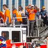 2016 Denver Broncos Super Bowl 50 Victory Parade, Denver, CO.  2016-02-09.