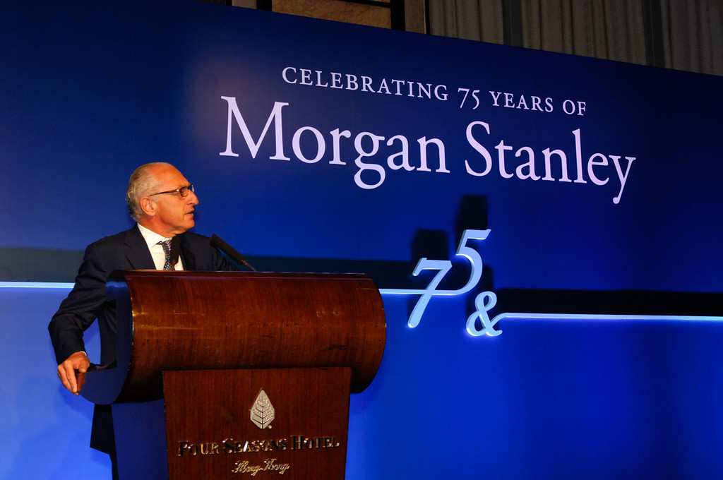 Morgan Stanley 75th Anniversary