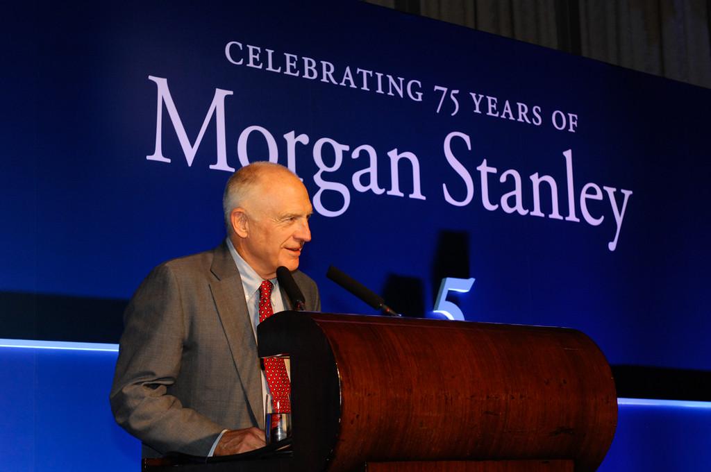 Morgan Stanley 75th Anniversary