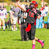 2015-10-10:  8th Grade.  Spartan Purple vs Warrior Raven - Redstone Park HR