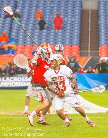 2015-05-16:  NCAA DI Regional Playoffs @ Mile High.  Ohio State University vs. University of Denver.