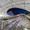 Union Station, Denver, CO in Denver Broncos Colors