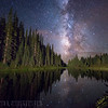 Milky Way over Lake Irene, Rocky Mountain National Park, CO