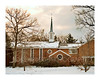 Winter, Eisenhower Chapel