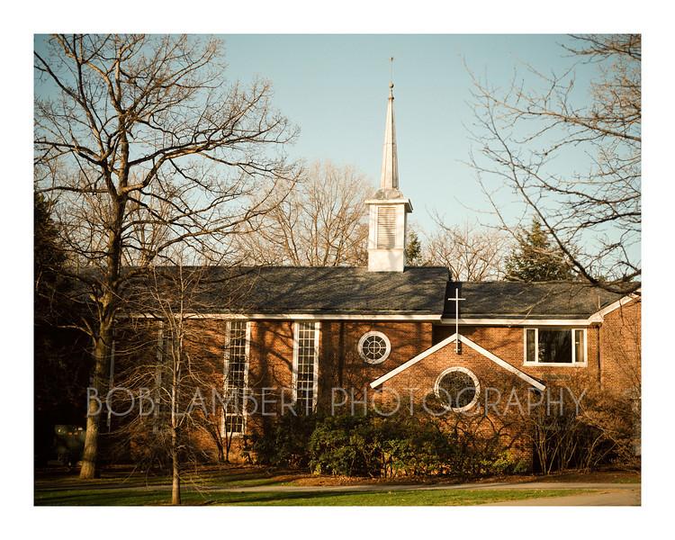 Spring, Eisenhower Chapel
