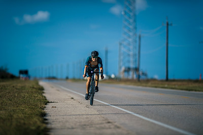 Cycling on the San Luis Pass