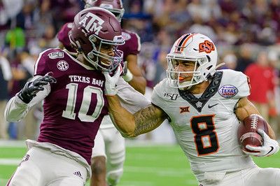 NCAA Football 2019: Texas Bowl, Texas A&M 24:21 Oklahoma State