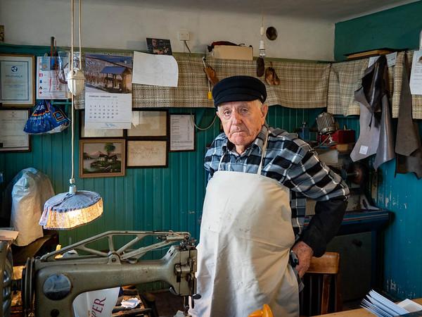 The shoemaker in Koper