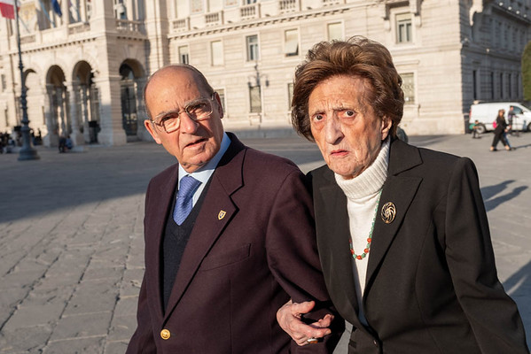 Elegant Italian Couple