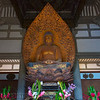 Amida Buddha, Byodo-In Temple, Valley of the Temples Memorial Park, Kahaluu, O'ahu, Hawaii