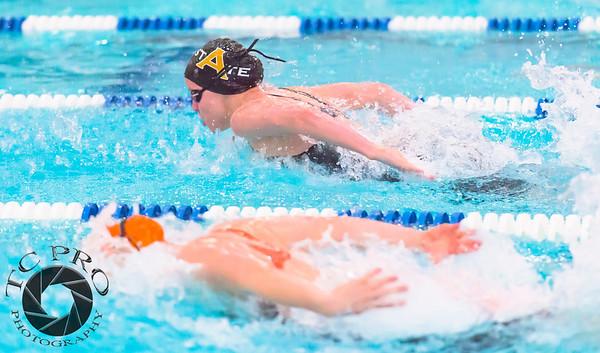 2015 - 2016 Girls Swimming 5A State Meet.  EPIC, Loveland, CO.