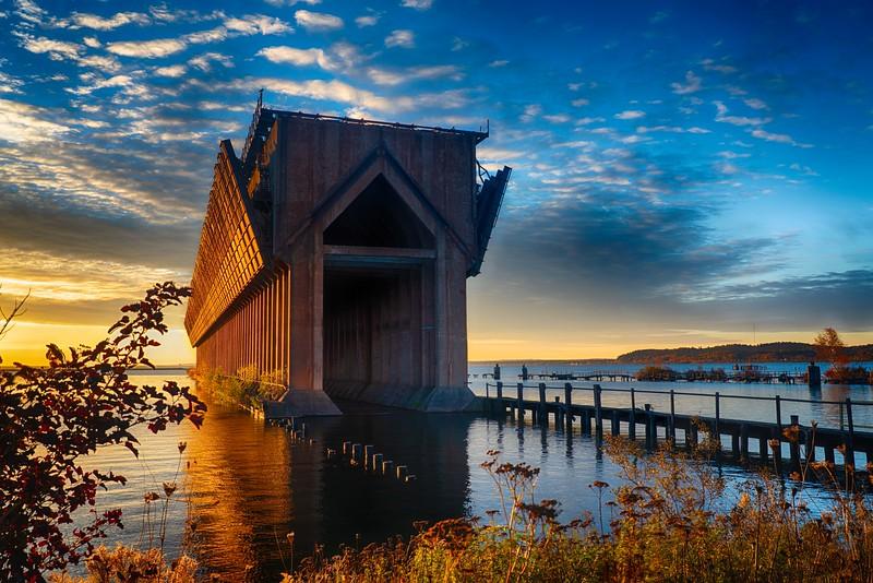 Marquette Ore Boat Loading Dock
