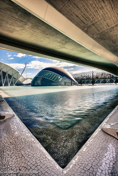 L'Hemisfèric — an Imax Cinema, Planetarium and Laserium, Center for Arts and Science; Valencia, Spain