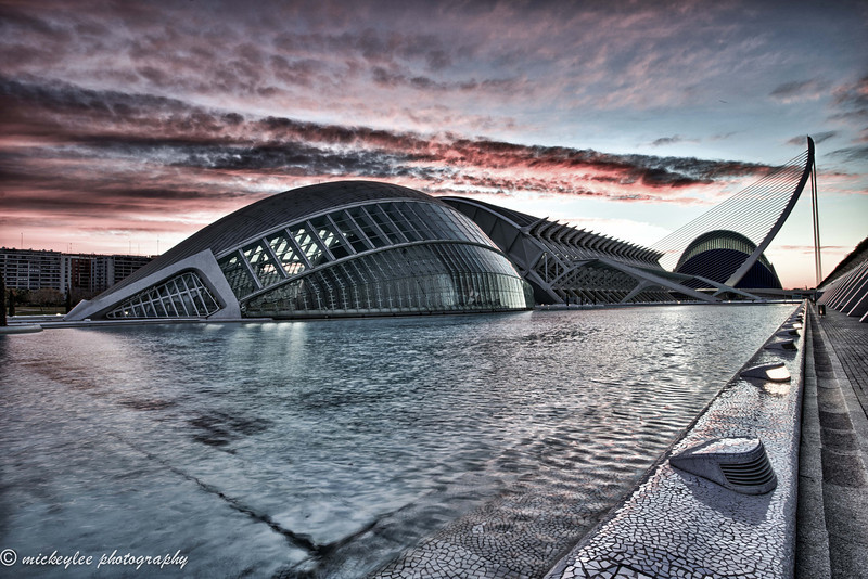 IMAX and Science Center, Center for Arts and Science; Valencia, Spain