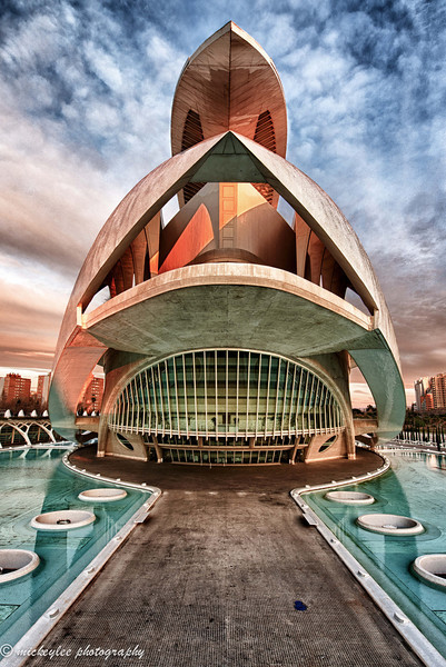 El Palau de les Arts Reina Sofia, Performing Hall, Center for Arts and Science; Valencia, Spain