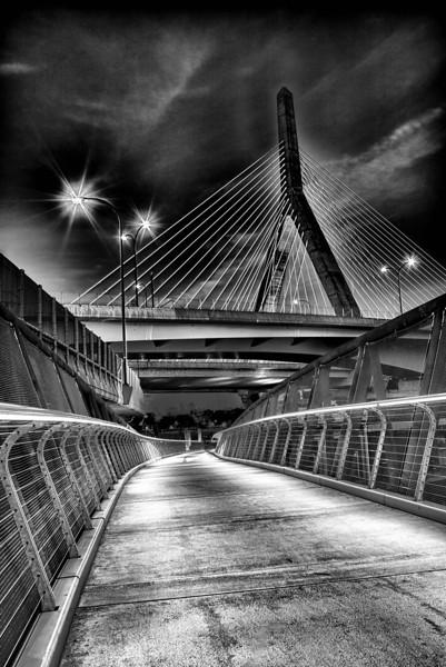 Zakim Bridge Boston,  MA
