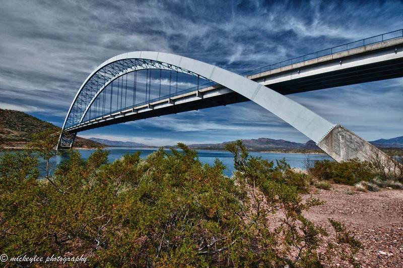 Roosevelt Dam Bridge Arizona