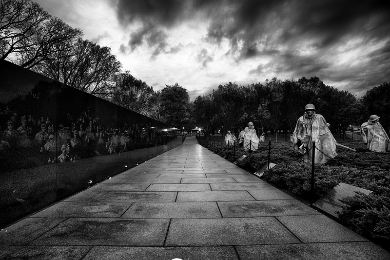 Korean War Memorial DC