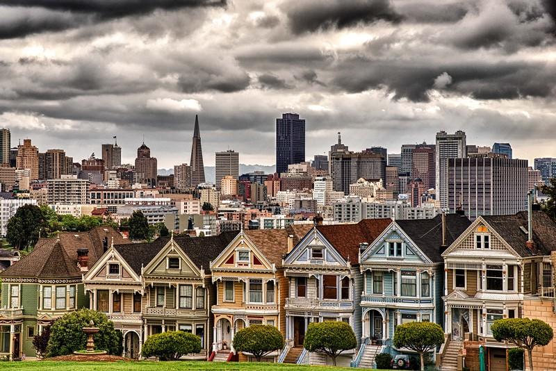 Painted Ladies  San Francisco, CA
