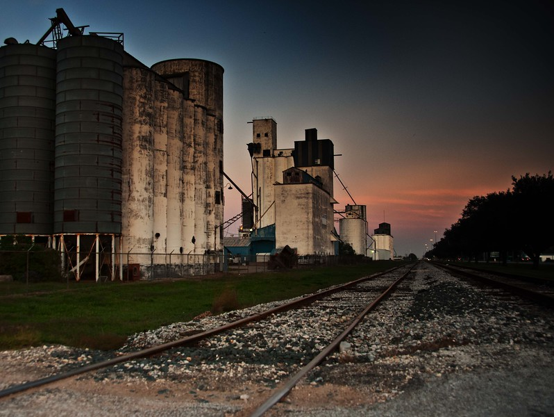 Rice Silos Houston, TX