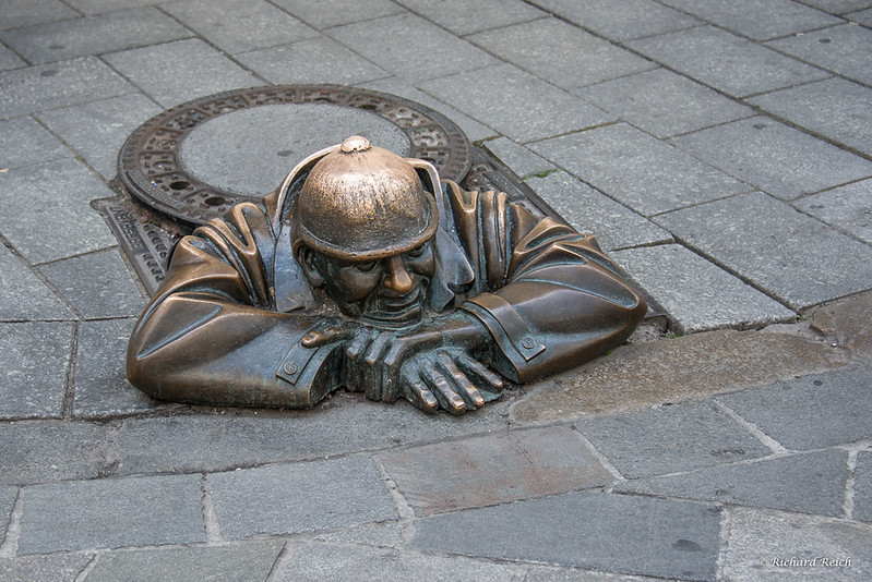 Cumil the Sewer Worker, Bratislava