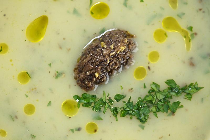 Potato Truffle Soup