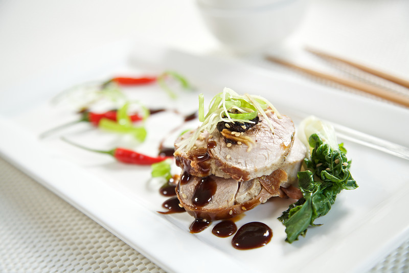 Asian pork Stack
