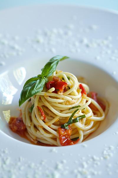 Spaghetti  Tomato Basil