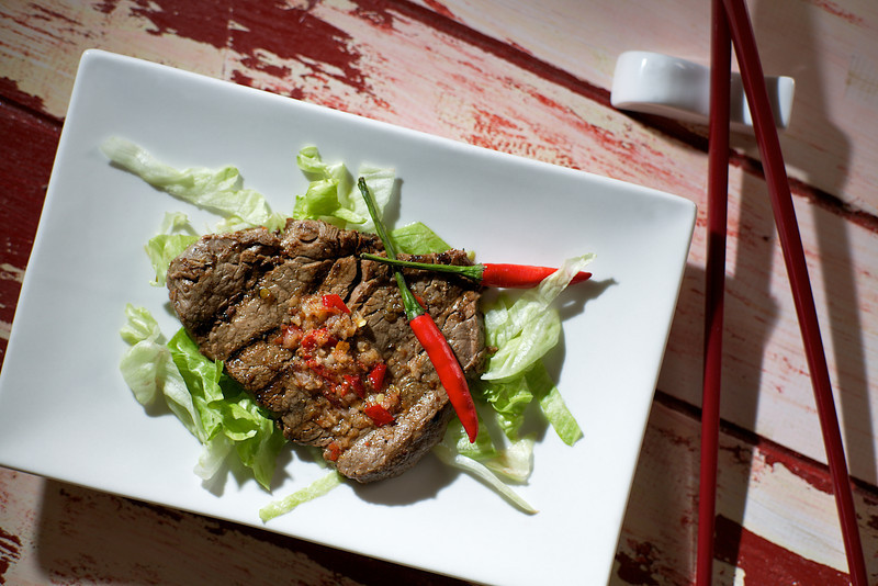 Beef with Thai Sauce