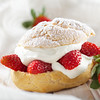 Strawberry Cream Puff