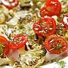 Roast Cauliflower and Tomato Salad