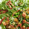 Arugula Pancetta Pea Salad