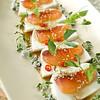 Salmon Tofu Sashimi