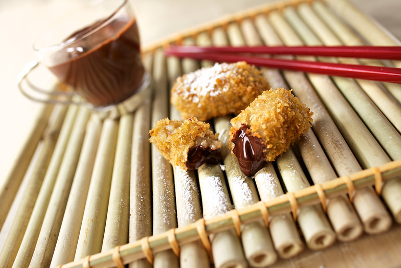 Rice and Chocolate Croquettes