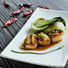 Seared Scallops with Grapefruit Reduction
