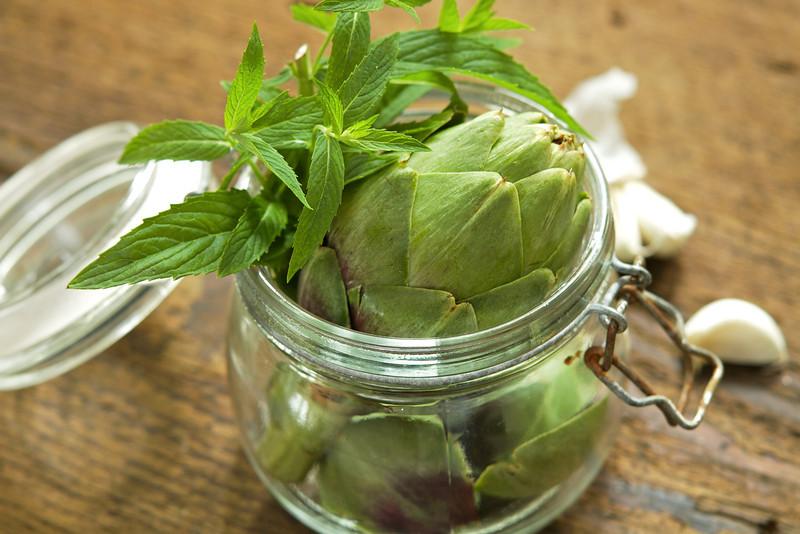 Artichoke Jar