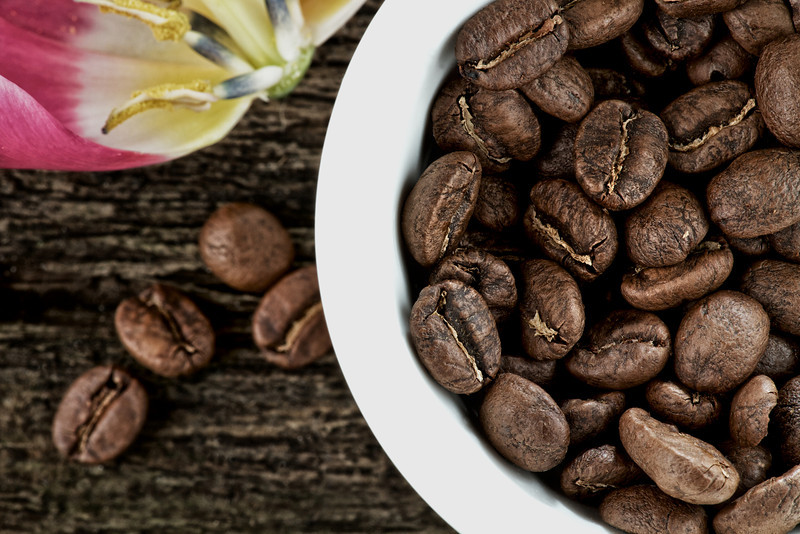 Coffee Beans Close up