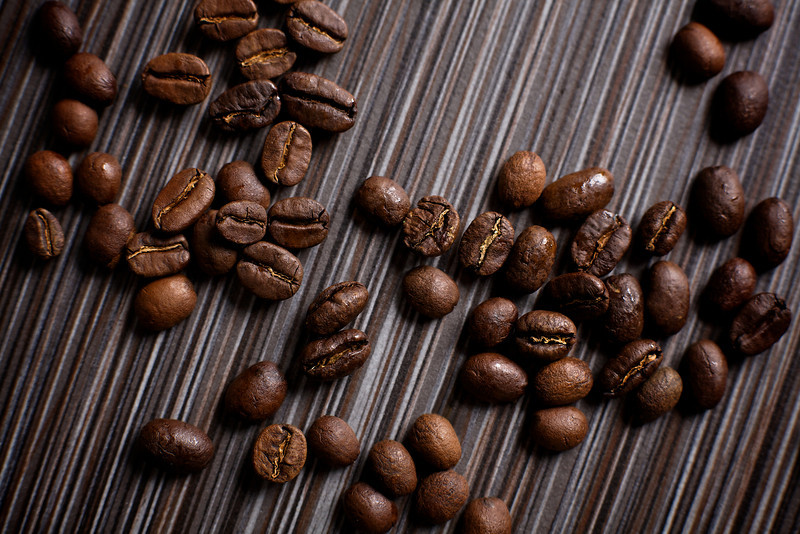 Coffee Beans on Tile