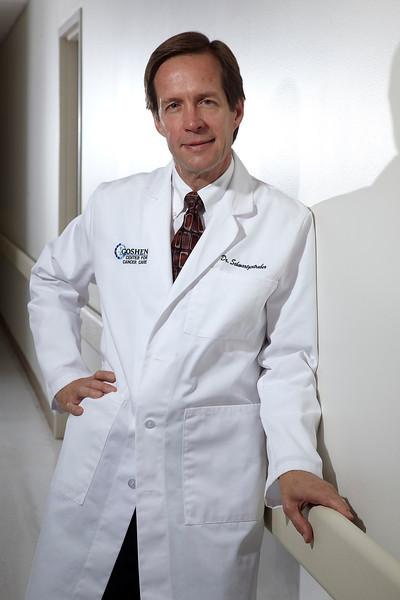 Oncologist Dr Schwartzentruber
