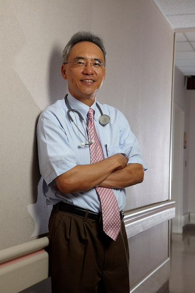 Oncologist Larry Kwak at MD Anderson Cancer center