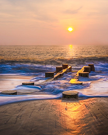 Sun Covered Jetty